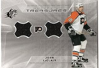 2001-2001 SPX Hockey's Treasures JOHN LeCLAIR Jersey