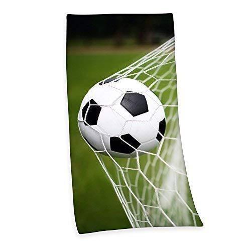 FUSSBALL BADETUCH SAUNA HANDTUCH VELOURUCH 75 x 150 cm Geschenk NEU WOW - All-In-One-Outlet-24 -