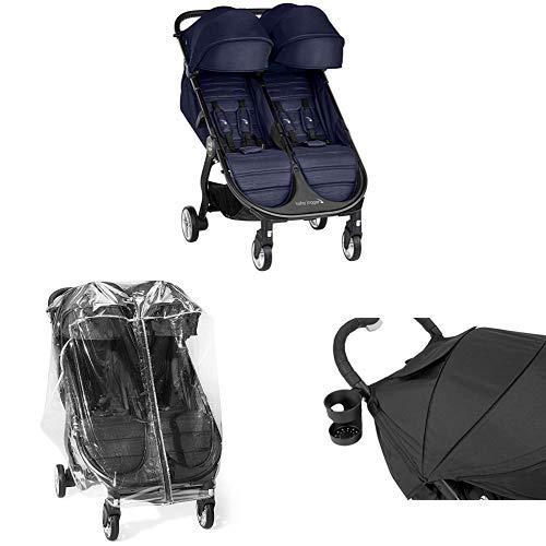 Baby Jogger Baby Jogger City Tour 2 Compact Fold Stroller with Raincover and Drink Holder, Seacrest