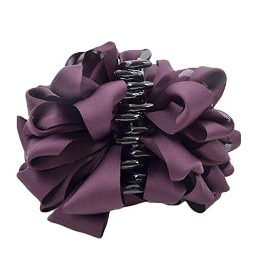 Mesdames Belle Claw Clip cheveux Décor Clips Accessoires cheveux, Violet