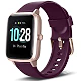 Letsfit Smart Watch, Fitness Tracker with Heart Rate Monitor, Activity Tracker with 1.3' Touch Screen, IP68 Waterproof Pedometer Smartwatch with Sleep Monitor, Step Counter for Kids, Women and Men