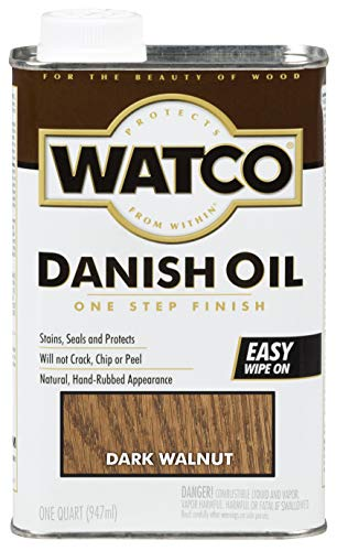 Watco 242220 Danish Oil Wood Finish, Low...