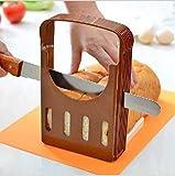 ENTREX Bread Knife Wide Teeth Wooden Handle Cake Knife Bread Slicer & Foldable and Adjustable Bread Toast Slicer Bagel Slicer Cutter | Bread Slicer |Bread Slicer Knife |