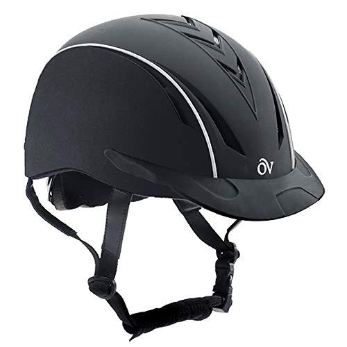 Ovation Unisex Extreme Riding Helmet, Black, Small/Medium