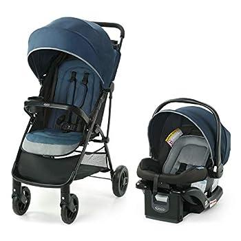 Graco NimbleLite Travel System   Includes Lightweight Stroller and SnugRide 35 Lite Infant Car Seat Parent Storage Compact Fold   Lightweight Stroller Under 15 Pounds Belgrade