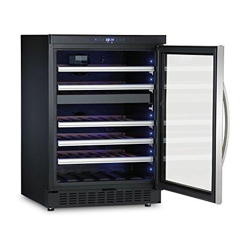 Dometic D50 - Vinoteca de compresor con dos zonas temperatur