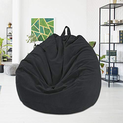 Keptfeet Chair Cover Soft Washable Removable Slipcover Jacket for Most Bean Bag Sofa