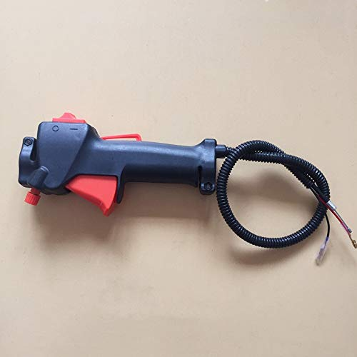 MQEIANG Empuñadura del Acelerador de 26 mm for Multi máquina desbrozadora 4 in1 5 en 1 Hierba Cortasetos de Largo Alcance Palanca de Control del Acelerador Sierra
