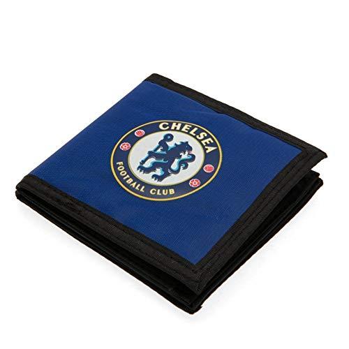 Chelsea FC - Cartera de tela con cierre adhesivo (11 x 10cm)...