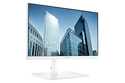 Samsung Business SH850 Series 24 Inch QHD 2560x1440 Desktop Monitor for Business (in White) with USB-C, HDMI, DisplayPort, 3-Year Warranty, TAA (S24H851QFN) (Personal Computers)