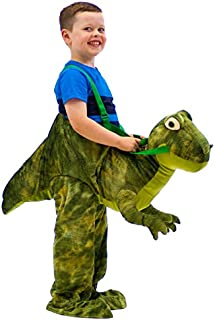 Kids Dress Up Riding Costume Dinosaur Fancy Dress 3-7 Years by TOP STAR
