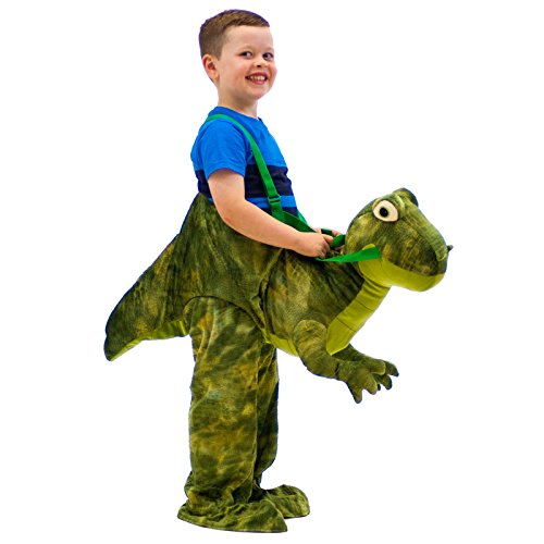 Childrens Dinosaur Dressing Up Costume T Rex Fancy Dress 3 7