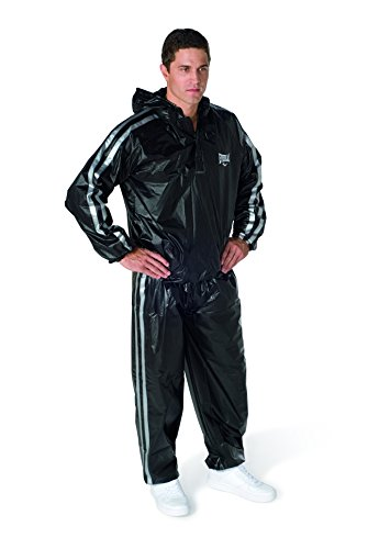 Everlast Erwachsene Boxartikel Ex5013 Super Sweat Hooded Sauna Suit, Black, M, 057200 99330