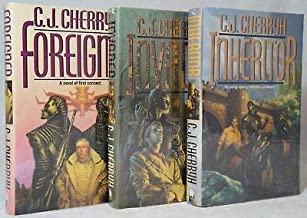 C. J. Cherryh / Foreigner Invader and Inheritor Signed First Editions 3 Volumes