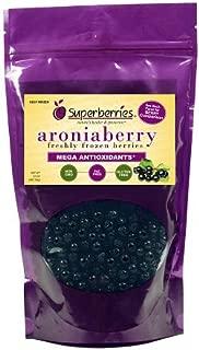 Organic Fresh-Frozen Aroniaberries (Chokeberry), 32 Oz. Package