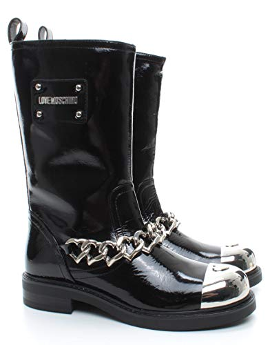 Bottes Femmes LOVE MOSCHINO JA24103 Naplank Cuir Synthétique Noir