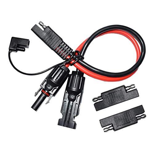kesoto MC4 Verlängerung Kabel MC4 zu SAE Stecker Kabel, 10 AWG