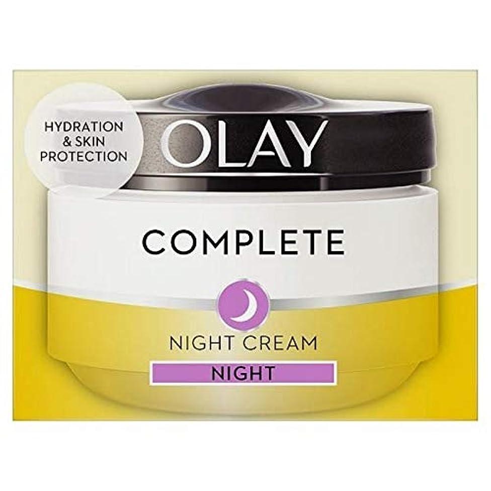 効率的にプリーツワックス[Olay ] 完全な3In1の夜の保湿50ミリリットル - Complete 3in1 Night Moisturiser 50ml [並行輸入品]