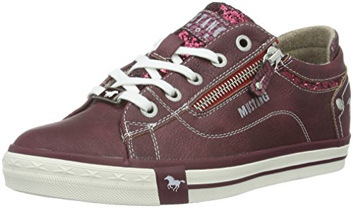 Mustang Damen 1146-301 Sneakers, Rot (55 Bordeaux), 42