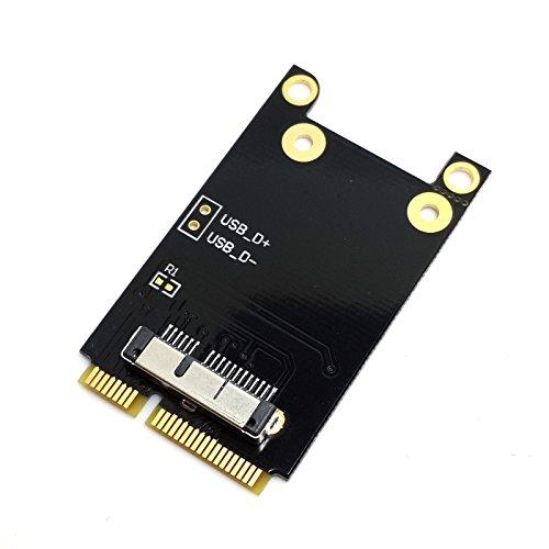 CYワイヤレスWiFiミニPCI - Eカードfor MacBook Broadcom bcm94360cd / bcm94331cd bcm94331cd bcm943224p
