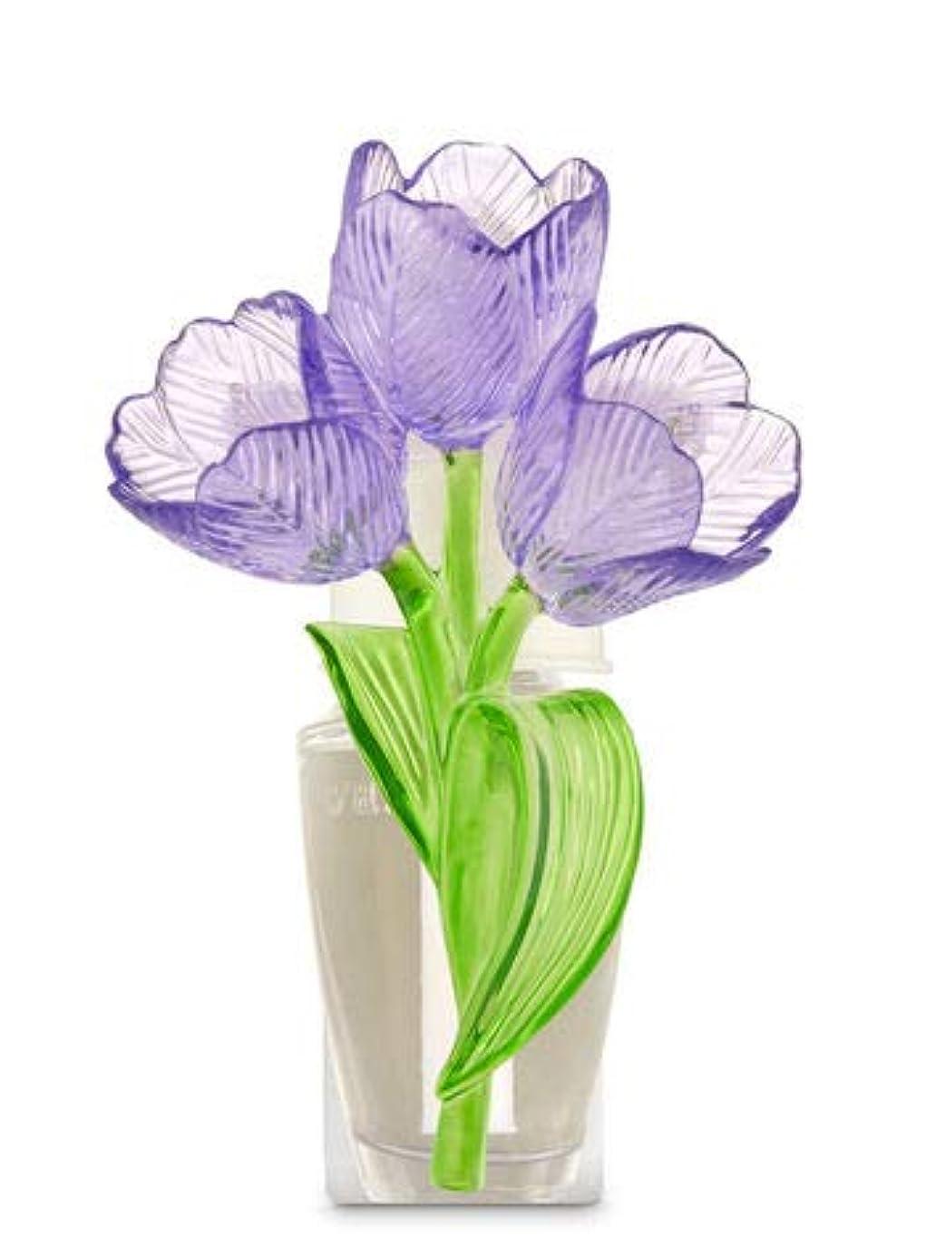 侵略シルエットデザイナー【Bath&Body Works/バス&ボディワークス】 ルームフレグランス プラグインスターター (本体のみ) チューリップ ナイトライト Wallflowers Fragrance Plug Tulips Night Light [並行輸入品]