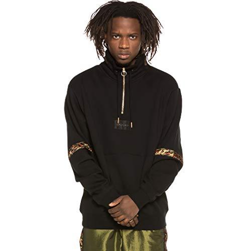 GRIMEY XXL-Sudadera Midnight Neck Sweatshirt SS19 Black