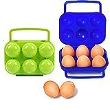 nuluxi Eierbehälter mit Deckel Eier Halter Kunststoff Eierkörbe Eieraufbewahrung...