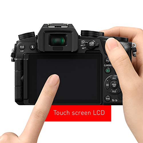 415ObUWe3JL - PANASONIC Lumix G7 4K Digital Mirrorless Camera Bundle with Lumix G Vario 14-42mm and 45-150mm Lenses, 16MP, 3-Inch Touch LCD, DMC-G7WK (USA Black)