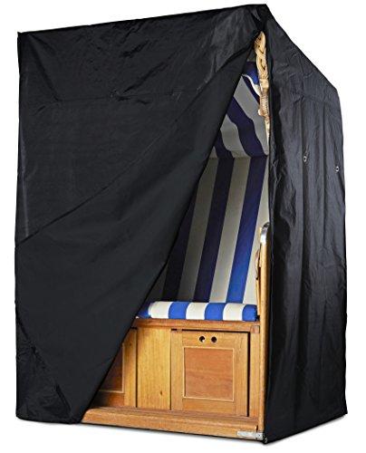 Springreen Strandkorb Schutzhülle - Universelle Abdeckung Zum Schutz von Strandkörben - Extra Wasserabweisend und UV schützend