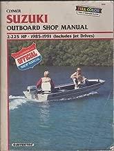 1983-91 CLYMER SUZUKI OUTBOARD 2-225HP SHOP MANUAL
