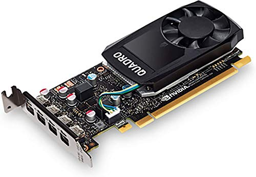 HP - Grafikkarte (Quadro P620, 2 GB, GDDR5, 128 Bit, 5120 x 2880 Pixel, PCI Express x16 3.0) (generalüberholt)
