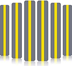 18 Pack Reading Guide Strips Colored Overlay Highlight Bookmarks Yellow Reading Strips Help with Dyslexia for Crystal Children and Teacher Supply