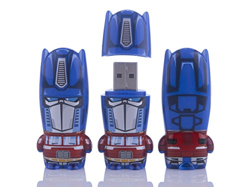 Mimoco 8GB Optimus Prime Transformers MIMOBOT Character USB Flash Drive with bonus preloaded Mimory content, Limited Edition