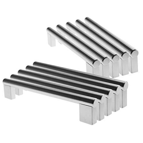 Create Idea 5paare Möbelgriff Stangengriffe 160mm Stangengriff für Küchen Tür Edelstahl Schrankgriffe Schubladengriffe