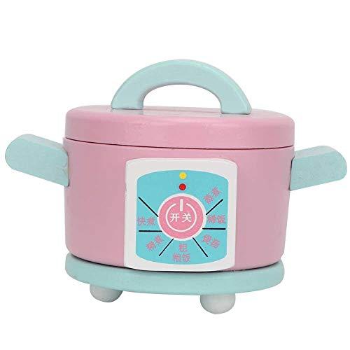 Juguete de cocina, juguete de utensilios de cocina, inofensivo portátil no tóxico para niños