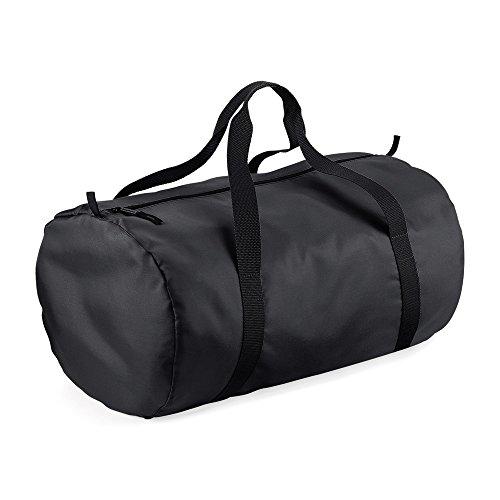 BagBase Reisetasche, wasserabweisend, 32 Liter (Einheitsgröße) (Schwarz/Schwarz)