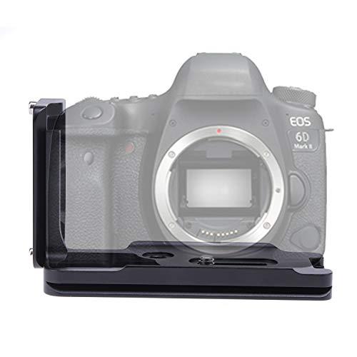 Verstellbare vertikale Schnellwechselplatte Handgriff Halterung L Halterung fur Canon EOS 6D Mark II spiegellose Kamera