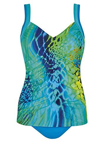 Sunflair Tankini Turquoise Lightness Cup D, Farbe türkis, Größe 46