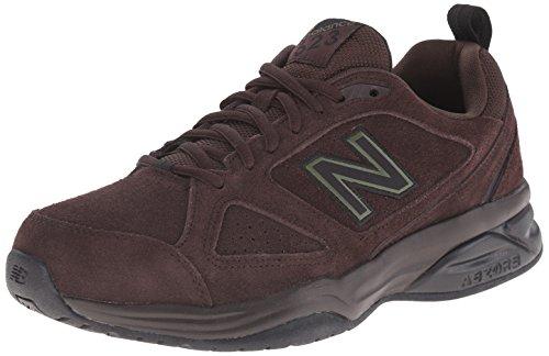 New Balance Men's MX623v3 Training Shoe, Dark Brown, 9.5 D US