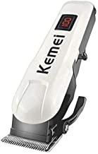 Kemei Km-809a Professional Hair Trimmer for Men (White)