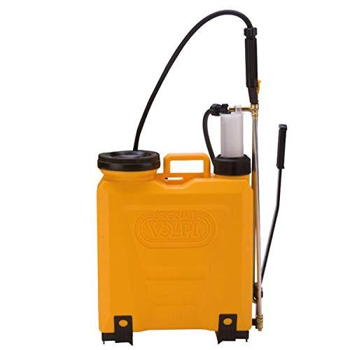 Volpi Uni 12L Plastic Pump Spruzzatore a Sacco, Giallo, 45x15x58 cm