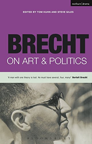 Compare Textbook Prices for Brecht on Art & Politics Brecht's Plays, Poetry and Prose  ISBN 9780413758903 by Bertolt Brecht,Tom Kuhn,Steve Giles
