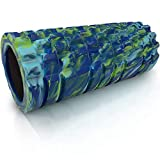 321 STRONG Foam Roller - Medium Density Deep Tissue Massager - Muscle Massage + Myofascial Trigger Point Release - Includes 4K eBook - Alien