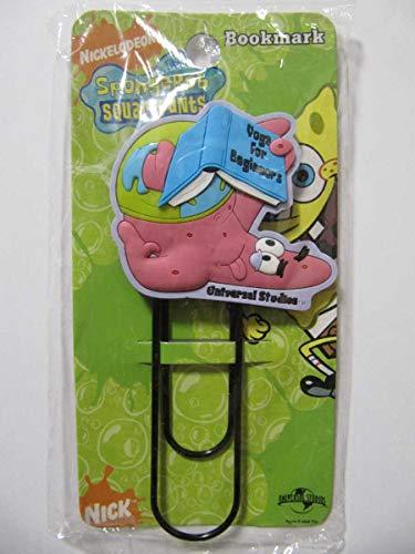SpongeBob スポンジボブ 2007 パトリック ブックマーカー 栞 しおり レア ニコロデオン NICKELODEON Bookmark