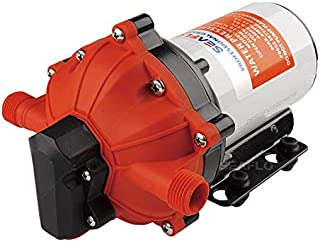 ALL NEW SEAFLO 55-Series Diaphragm Pump - 12V DC, 5.5 GPM, 60 PSI with HEAVY DUTY PRESSURE SWITCH