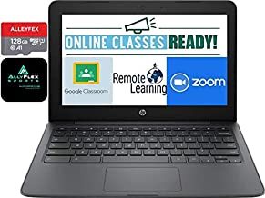 "2020 Newest HP Chromebook 11.6"" HD Laptop for Business and Student, Intel Celeron N3350, 4GB Memory, 160GB Space(32GB eMMC..."