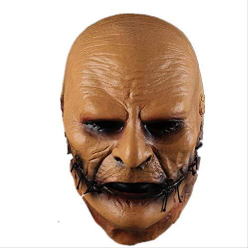 Slipknot Maske,Kostüm Latex Masken,Dj Star Cosplay Halloween Prop Maske Für Erwachsene Teller