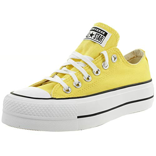 CONVERSE - CTAS Lift OX 568627C Butter Yellow, Tamaño:38 EU