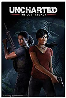 Uncharted The Lost Legacy Cover Poster Maxi - 91.5 x 61cms (36 x 24 Inches)