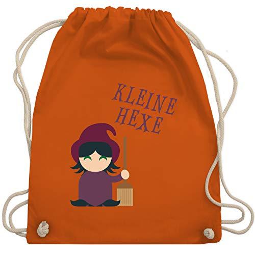 Shirtracer Halloween Kind - Kleine Hexe süß - Unisize - Orange - Verkleidung Kostüm - WM110 - Turnbeutel und Stoffbeutel aus Baumwolle